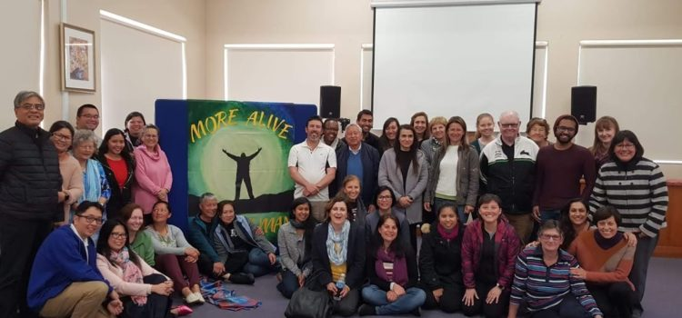 "2018 Silent Retreat – "" More Alive, More Human"""