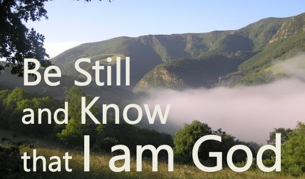 """2015 Silent Retreat: """"Be Still and Know that I Am God"""""""